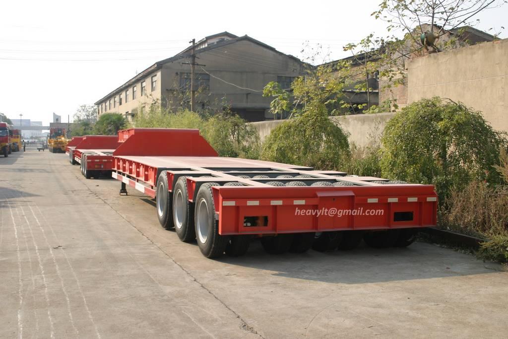 low bed trailer transporter 2